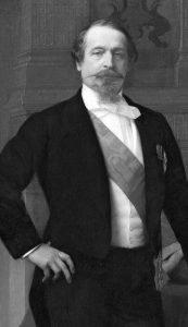 Луис-Наполеон Бонапарте или Наполеон III (20. април 1808. – 9. јануар 1873). Слика Александра Кабанела