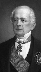 Руски канцелар Александар Горчаков (15. јун 1798. – 11. март 1883). Слика Николаја Тимофеевича Богацког