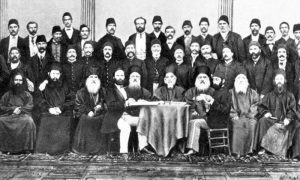 Делегати црквено-народног сабора у Цариграду 1871. и оснивање бугарске егзархије.
