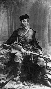 Принц Петар Карађорђевић, Петар Мркоњић за време устанка у Босни и Херцеговини 1875. – 1876.