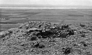 Последице дејства турске артиљерије на положају 20. пука Тимочке дивизије I позива