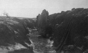 Војници IV пука II позива у пешачком рову