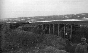 У рову 20. пешадијског пука Тимочке дивизије I позива
