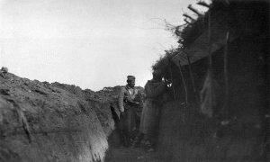 Војници Тимочке дивизије I позива дежурају у рову