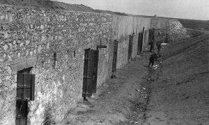Зидана фортификација у утврђењу Казан-Тепе