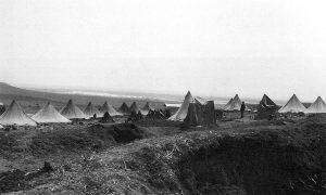 Напуштени турски логор код Казан-Тепе