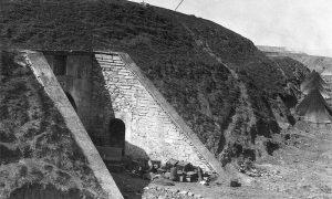 Улаз у подземни магацин у фору Шејтан-Торлу