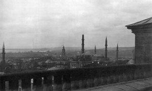 Панорама Једрена, сликана са Селимове џамије