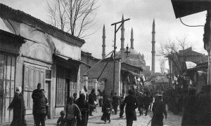 Улица у Једрену, са погледом на Селимову џамију