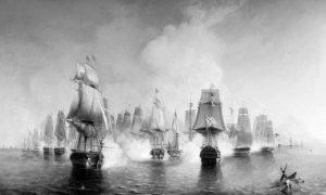 Кључна поморска битка за Атос у току руско-турског рата, вођена од 19. до 22. јуна 1807.