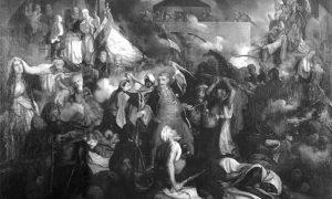 Ослобођење Београда 1806. Слика Катарине Ивановић.
