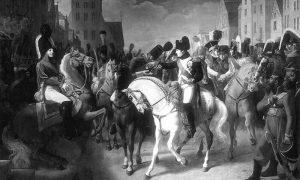 Сусрет Наполеона I и Александра I у Тилзиту јула 1807. уље на платну Жан-Баптисте Дебрета