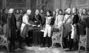 Конгрес у Ерфурту, 27. септембар – 14. октобар 1808. Уље на платну Николаса Госеа