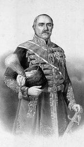 Српски кнез Милош Обреновић (18. март 1780. – 26. септембар 1860)