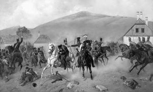 Борбе током мађарске револуције 1848-49. Уље на платну Александра Богдановича Вилевалдеа из 1881.