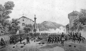 Гарибалди заузима Варесу 1859, током Другог рата за независност