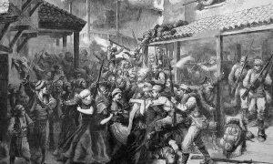 Борбе на улицама Сарајева приликом аустроугарске анексије Босне и Херцеговине, 19. августа 1878.