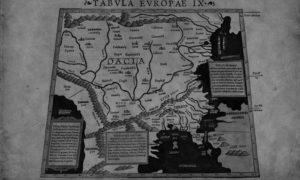 Tabula Europae IX, мапа Балкана из 1550.год. Себастијана Мунстера, Базел