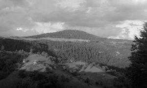 Selo Gornja Jablanica i planinski vrh Tornik, Zlatibor, Srbija