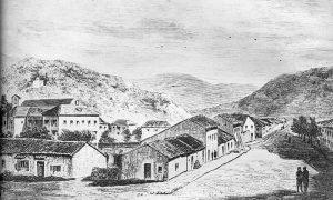Ilustracija Grahova u Crnoj Gori, nepoznati autor. Preuzeto sa www.montenegrina.net