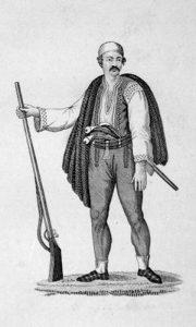Ličanin u narodnoj nošnji iz 1830.