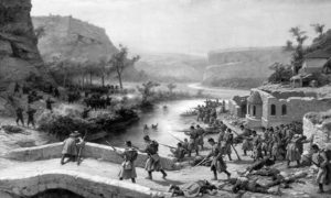 Борбе код Иванова током руско-турског рата 1877-78. Слика Павела Ковалевског.