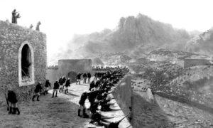 Одбрана утврђења Бајазет, 8. јуна 1877. Уље на платну Лева Феликсовича Лагорија из 1891.