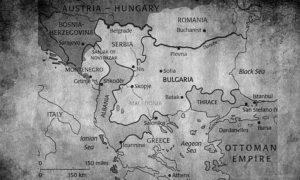 Предложене границе Санстефанским миром, потписаним 3. марта 1878.