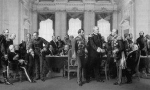 Финални састанак Бечког конгреса (13. јун -13. јул 1878). Уље на платну Антона вон Вернера из 1881.