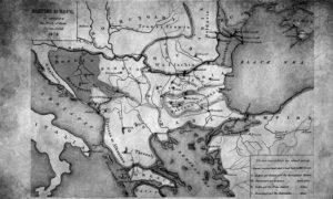 Границе постигнуте договором на Бечком конгресу 13. јула 1878.