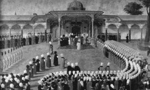 Пријем код султана Селима III (24. децембар 1761. – 28. јул 1808.)