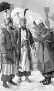 Официри јаничара, 18. век