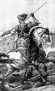 Мамалучки коњаник. Слика Карла Вернета
