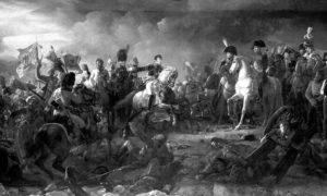 Победа француске војске под Наполеоном, Битка код Аустерлица или Битка три цара, 2. децембар 1805. Уље на платну Франсое Жерара из 1810.