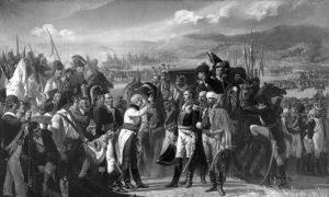 Битка код Баилена, 16. – 19. јул 1808.год, први већи пораз француске армије. Уље на платну Хосе Касадо дел Алисала.