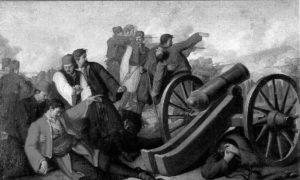 Смрт хајдук Вељка Петровића (1780. – 1813.) у бици код Неготина, 28. јул 1813.