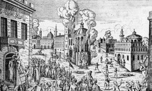 Масакр над грчким становништвом у Цариграду током 1821.