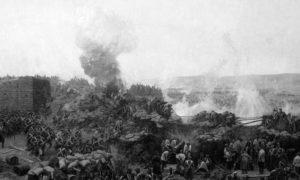 Опсада Севастопоља, 17. октобар 1854. – 9. септембар 1855. Слика Франца Роубауда из 1904.