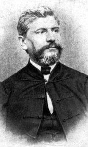 Анте Старчевић (23. мај 1823. – 28. фебруар 1896.), хрватски политичар, провинцијални књижевник и публициста, оснивач Хрватске странке права, национал-шовиниста, србофоб и расиста.