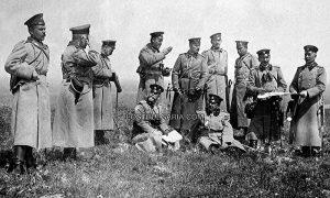 Бугарски генерал Ратко Димитријев испред Лозенграда, 1912.