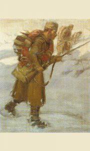 Војник са шареницом (Михаило Миловановић)