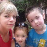 Катарина са децом